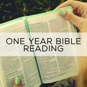 One Year Bible Reading for Resources
